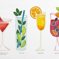 Summer Cocktails by Cat Coquillette