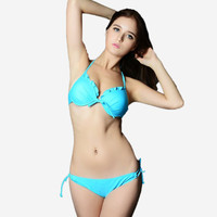 B050 Push Up Padded VS Secret Brand Bikini Set Swimwear Sexy Swimsuit For Women Beachwear Brazilian Biquinis Bathing Suit 2014