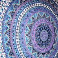 Large Indian Mandala Tapestry