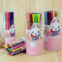 Colored Pens Set Washable Watercolor Pens Marker Kids Art Supplies Painting Drawing Colored Pens Cute Pens Colored Pen Set Stationery