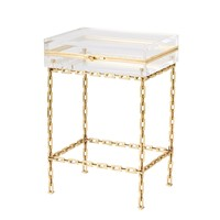 Lucite Trinket Table