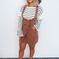 Come Over Here Dress: Mocha