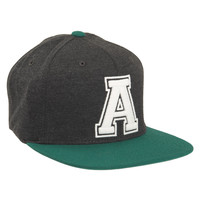 """Aeropostale  Mens Embroidered """"A"""" Flexfit Hat - Green"""