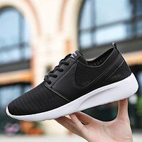 Men Mesh Breathable Light Running Shoes For Men Lace-up Exercise Sneakers Men Outdoor Sport Shoes Jogging Gym Footwear Trainers