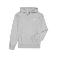 Nike Men's NSW Sportswear Club Fleece Pullover Hoodie Dark Heather Grey