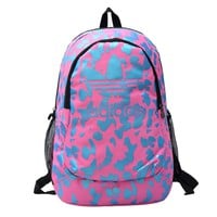 """Adidas"" Floral Cool Style School Backpacks Laptop Backpack Should Bag Travel Bag"