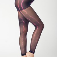 rsaphhftd - Tie Dye Super Sheer Footless Pantyhose