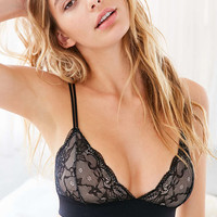 Out From Under Adele Fusion Lace Triangle Bra - Urban Outfitters