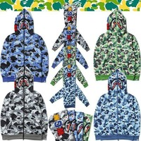 GPO2N BAPE x Shark Army Defencex Hoodie (3 Colours Available)