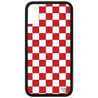 Checkers iPhone X/Xs Case | Red