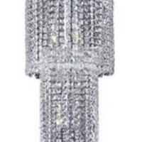 Chantal - Large Hanging Fixture (12 Light Contemporary Grand Crystal Chandelier) - 1727G54
