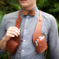 Vice Holster (cigarettes and flask) - ready to ship