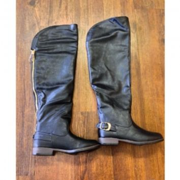 Over The Knee Riding Boots: Blush Boutique & Specialty Shop