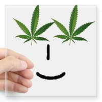 Pot Head Emote Sticker> The Pot Head Emote> 420 Gear Stop