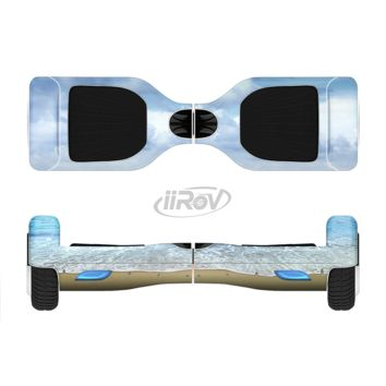 The Calm Blue Sky and Sea Shore Full Body Skin Set for the Smart Drifting SuperCharged Transportation iiRov