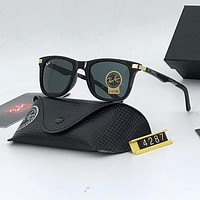 RayBan Ray-Ban Popular Men Women Personality Summer Sun Shades Eyeglasses Glasses Sunglasses Grey I-A-SDYJ