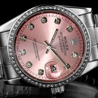 Rolex women's fashion quartz watch