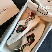 shosouvenir 【GUCCI】 Trending Fashion Casual Sports Shoes