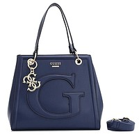 GUESS Women Fashion Leather Handbag Crossbody Satchel