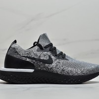 Kuyou Fa219721 Nike Epic React Flyknit Gray Sneakers