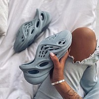 Adidas Yeezy Foam Runner Releasing In 2020 Coconut hollow hole shoes slippers sandals