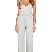 bohemian BONES Happy Hour Jumpsuit in Blue