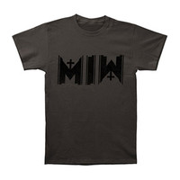 Motionless In White Men's  Icon T-shirt Grey Rockabilia