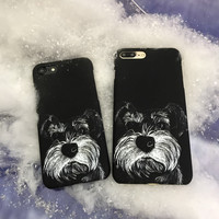Cute Dog Case for iPhone 7 7Plus & iPhone se 5s 6 6 Plus Best Protection Cover +Gift Box