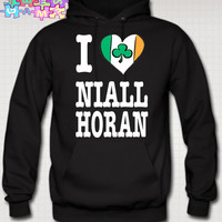 I Love Niall Horan Hoodie Love Niall Horan Hoodie IRISH Niall Zayn Liam Louis One Direction Tshirt NIALL