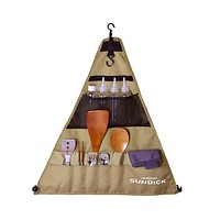 900D Oxford BBQ Tableware Storage Bag for Camping Picnic Portable Barbecue Cutlery Organizer Hanging Holder Bags Outdoor Tools