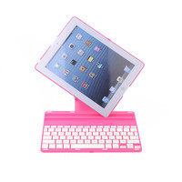 High Quality For new iPad mini 1 2 3 Rotation ABS Keyboard Case Cover With Stand Wireless Bluetooth Keyboard Free Shipping