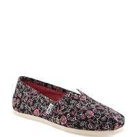 TOMS 'Classic - Floral' Slip-On (Women)
