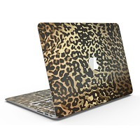 Dark Gold Flaked Animal v1 - MacBook Air Skin Kit