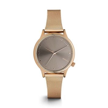 KOMONO Estelle Royale Watch in Rose Gold Grey