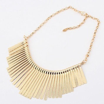 2015 Collier Femme Statement Bohemian Resin Beads Collares Necklaces & Pendants Gold Choker Colar for women jewelry Accessories  CZ8487 = 1928651012
