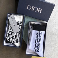 DIOR OBLIQUE SOCKS - Boxed