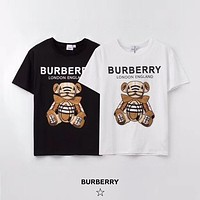 Burberry Men Womens Cotton T-shirt