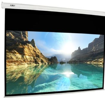 "FAVI 100 inch 16:9 Electric Projector Screen (87"" x 49"")"