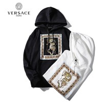 Versace hot seller of casual fashion couples gold dragon high-end hoodies
