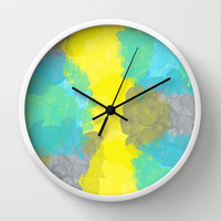 Your my light within  Wall Clock by Lauren Lee Designs