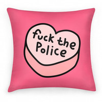 FUCK THE POLICE PILLOW - PREORDER