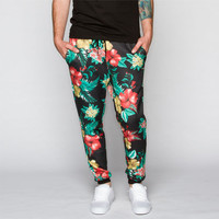Elwood Floral Print Mens Jogger Pants Bright Combo  In Sizes