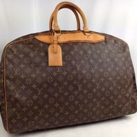 Louis Vuitton Monogram Alize 1 Poche Travel Bag Suitcase 5k170120p