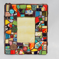 """Mosaic Picture Frame- 13"""" x 11"""""""
