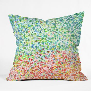 Laura Trevey Cool To Warm Outdoor Throw Pillow