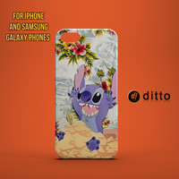 STITCH BEACH FUN Design Custom Case by ditto! for iPhone 6 6 Plus iPhone 5 5s 5c iPhone 4 4s Samsung Galaxy s3 s4 & s5 and Note 2 3 4