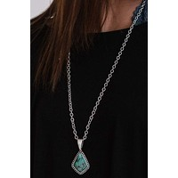 Touch of Wonder Necklace - Turquoise