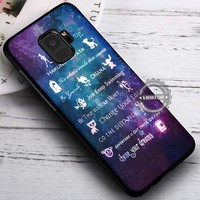 Quote Lessons Learned Mash Up Disney iPhone X 8 7 Plus 6s Cases Samsung Galaxy S9 S8 Plus S7 edge NOTE 8 Covers #SamsungS9 #iphoneX