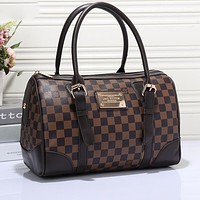 Louis Vuitton classic print fashion casual ladies large capacity pillow bag handbag