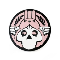 Jeremy Fish Rabbit Skull Pin